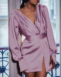 Haljina - kod 5324 - svijetlo ružičasta