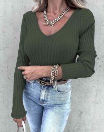 Bluza - kod 5918 - maslinasto zelena
