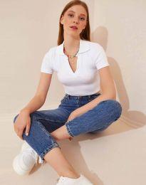 Majica - kod 13033 - bijela