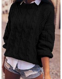 Džemper - kod 8780 - crna
