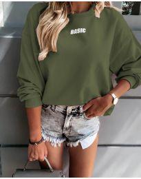 Bluza - kod 5154 - maslinasto zelena