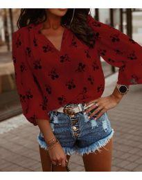 Bluza - kod 6650 - crvena