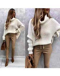 Džemper - kod 3029 - bijela