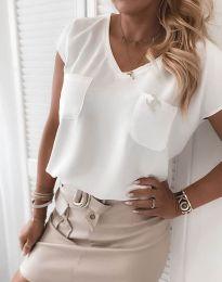 Bluza - kod 6306 - 1 - bijela