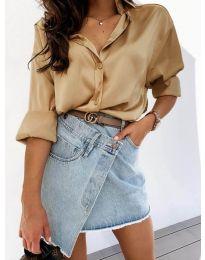 Košulja - kod 4646 - kapućino