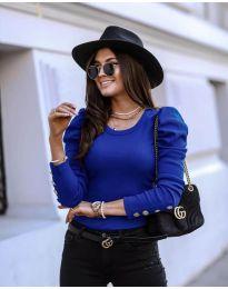 Bluza - kod 4448 - tamno plava
