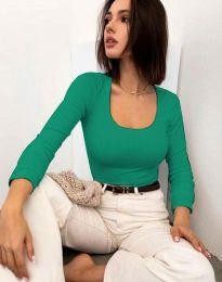 Bluza - kod 11662 - zelena