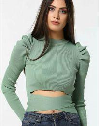 Bluza - kod 4519 - zelena