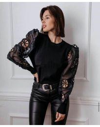 Bluza - kod 3528 - crna