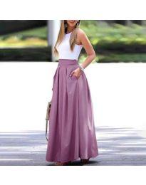 Suknja - kod 693 - ljubičasta