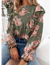 Bluza - kod 4256 - zelena