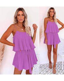 Slobodna haljina u ljubičastoj boji - kod  721
