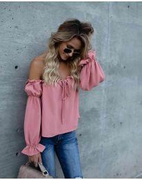 Bluza - kod 5574 - roze