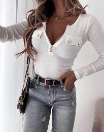 Bluza - kod 11615 - bijela