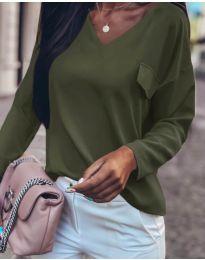 Bluza - kod 0802 - maslinasto zelena
