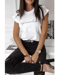 Majica - kod 3589 - bijela