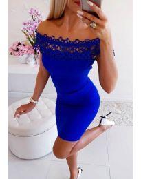 Haljina - kod 3105 - plava
