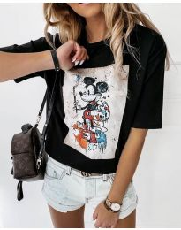 Majica - kod 569 - crna