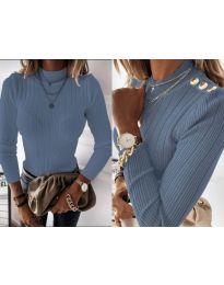 Bluza - kod 9930 - svijetlo plava