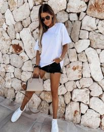 Majica - kod 5398 - bijela