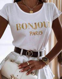 Majica - kod 0777 - bijela