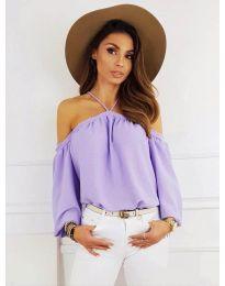 Ženska bluza u ljubičastoj boji - kod 6561
