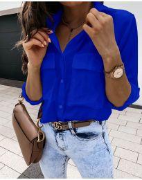 Košulja - kod 6148 - tamno plava