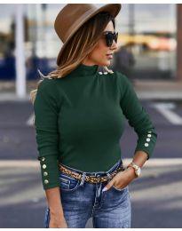 Bluza - kod 5259 - tamno zelena