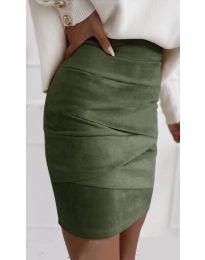 Suknja - kod 7451 - maslinasto zelena