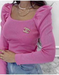 Bluza - kod 2180 - 2 - roze