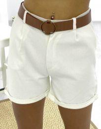 Kratke hlače - kod 2236 - 1 - bijela