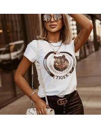 Majica - kod 2126 - bijela