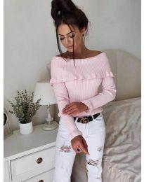 Bluza - kod 7131 - roze