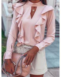 Bluza - kod 7715 - roze