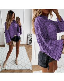 Džemper - kod 8092 - ljubičasta