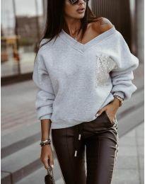 Bluza - kod 904 - siva
