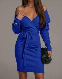 Haljina - kod 4765 - plava