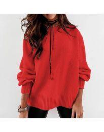 Džemper - kod 3345 - crvena