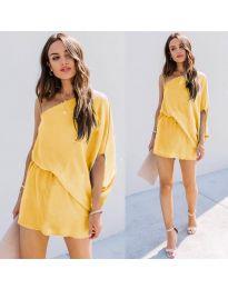 Haljina - kod 9933 - žuta