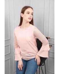Bluza - kod 0643 - 3 - roze