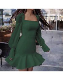Haljina - kod 3605 - maslinasto zelena