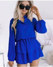 Haljina - kod 4093 - plava