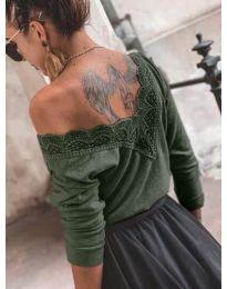 Bluza - kod 188 - maslinasto zelena
