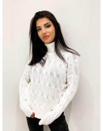 Džemper - kod 4172 - bijela