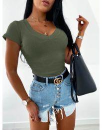 Bluza - kod 756 - maslinasto zelena
