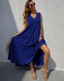 Haljina - kod 8149 - tamno plava