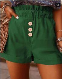 Kratke hlače - kod 9383 - maslinasto zelena
