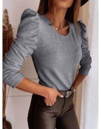Bluza - kod 9556 - siva