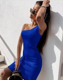 Haljina - kod 6412 - plava