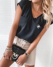 Bluza - kod 6306 - 3 - crna